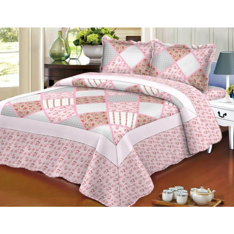 Bedspread Set , Quilted Embroidery Cheap Price