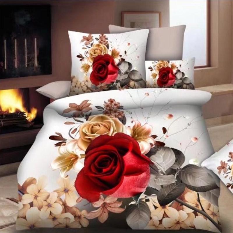 Bedsheet3D Online ,Printed Polyester Beddings Set