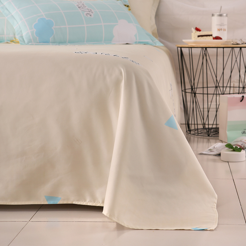 4 In 1 Bed Sheet , Cheap Polyester Bedlinen ,China Textile Exporter