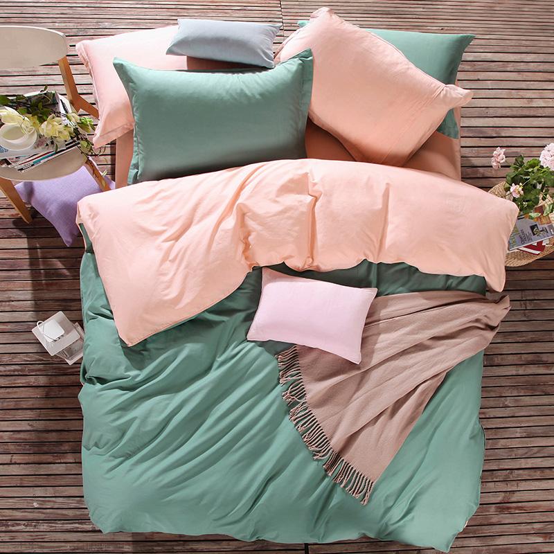 Cotton Duvet Cover Sale UK in Plain Color Queen King Size