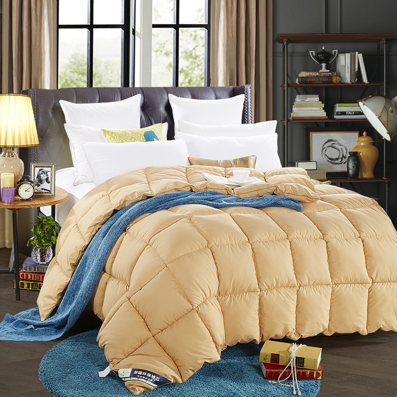 Beds Duvet ,Solid Camel Color Queen King Size , China Supplier
