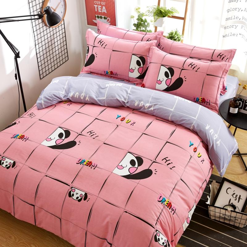 100Cotton Bedding Set ,Brushed Cotton Duvet Covers Queen and King
