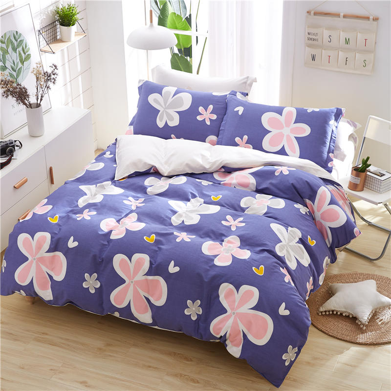Printed Cotton Duvet Cover Beding Set