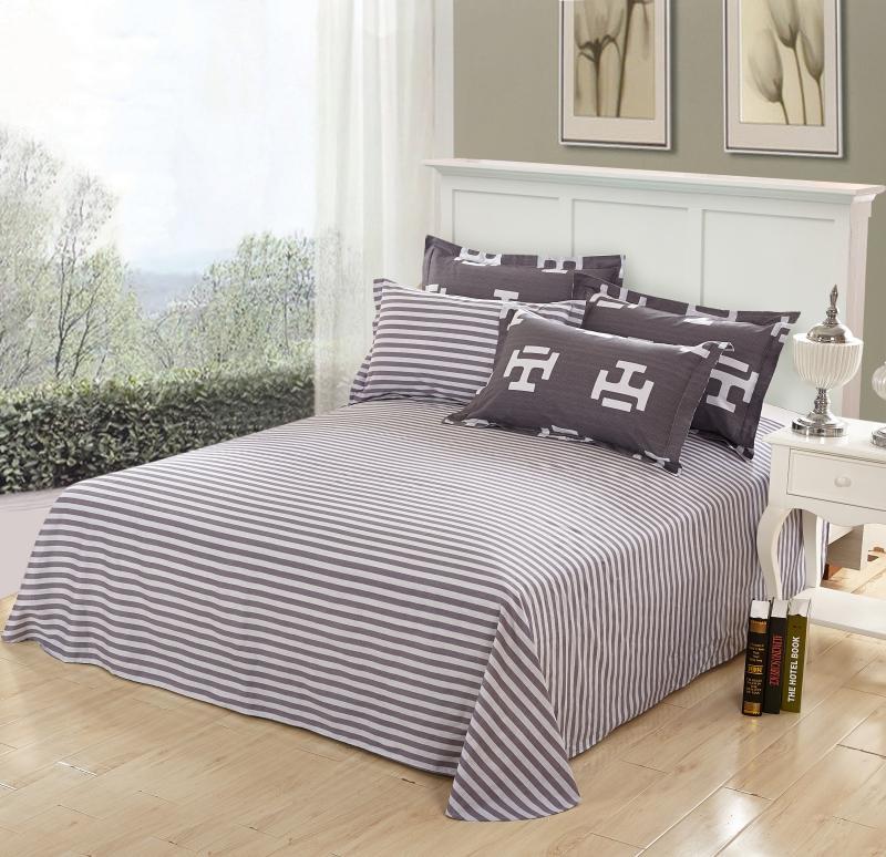 Printed Cotton Bed Linen Duvet Cover Set