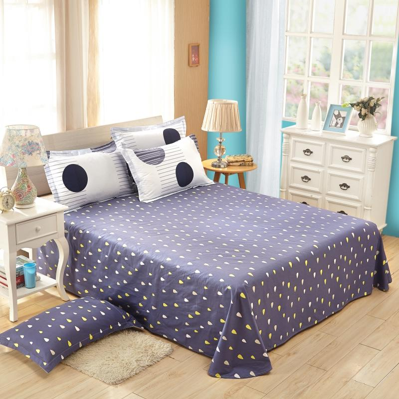 Printed Cotton Bedroom Sheets Sets for Sale , Inexpensive Price Queen King Size