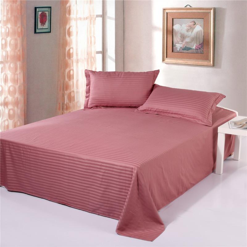 Stripe Bed Sheet Set, 100 Cotton Bedding Set ,Winde Home