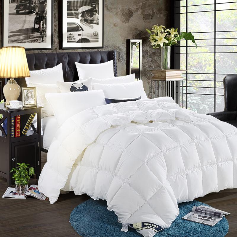 White Duvet , Solid Color Fiberfill , China Exporter