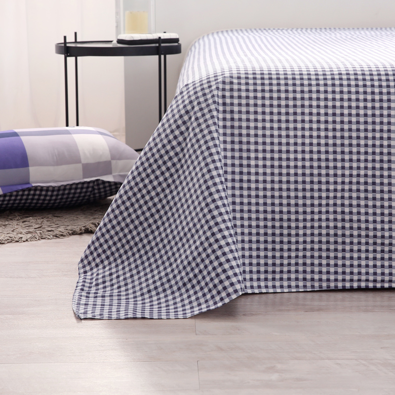 BedsheetWith Pillow , Cheap Price Polyester Printed Pattern , Made In China